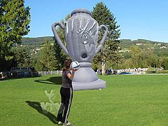 Puchar celnościowy do gry w piłkę